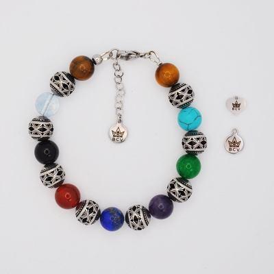 bracelet chemin de vie inox